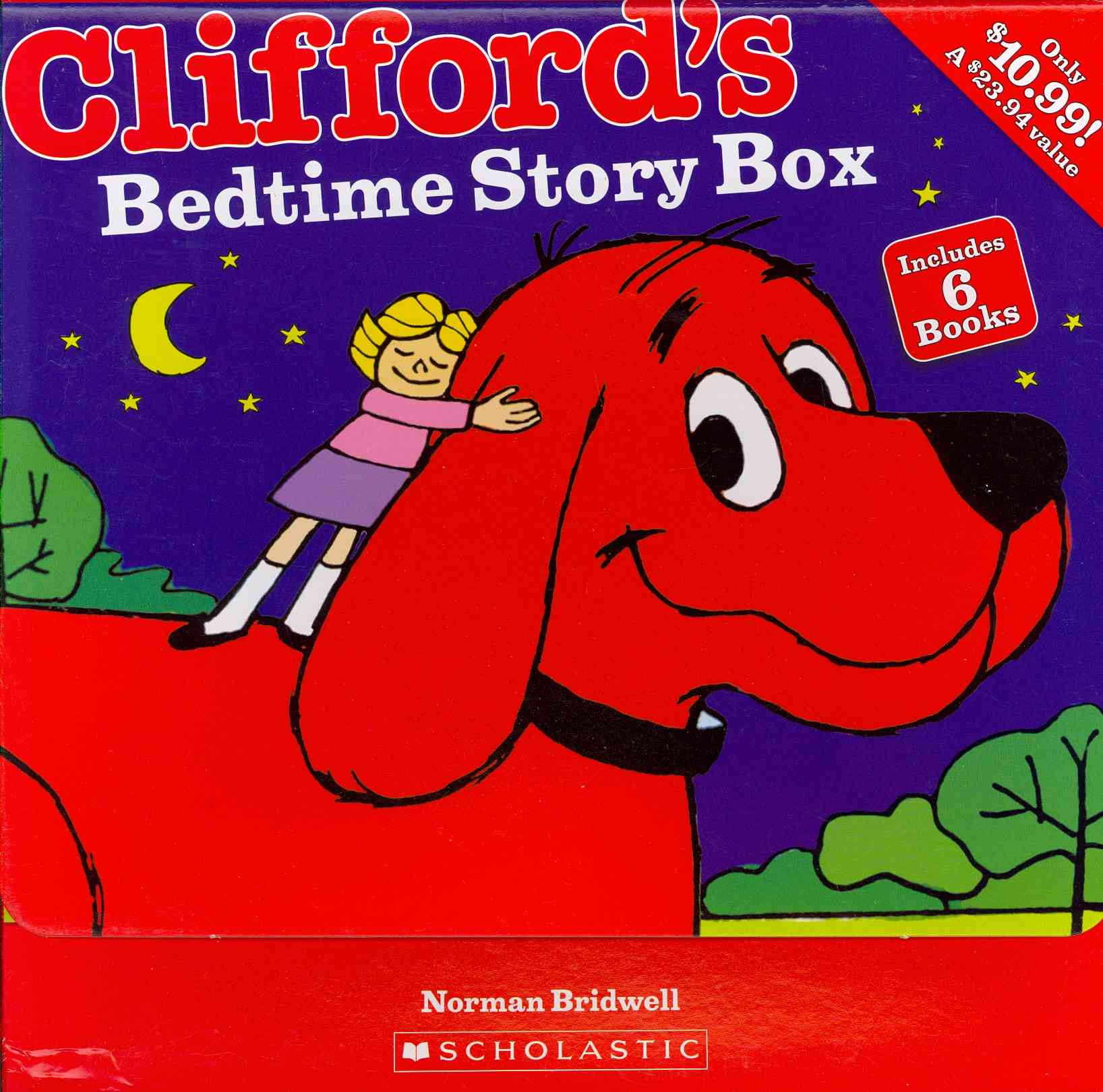 Clifford's Bedtime Story Box By Scholastic Inc. (COR)